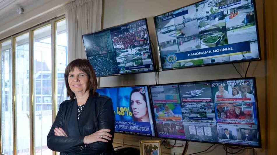 Patricia Bullrich Ministra de Seguridad
