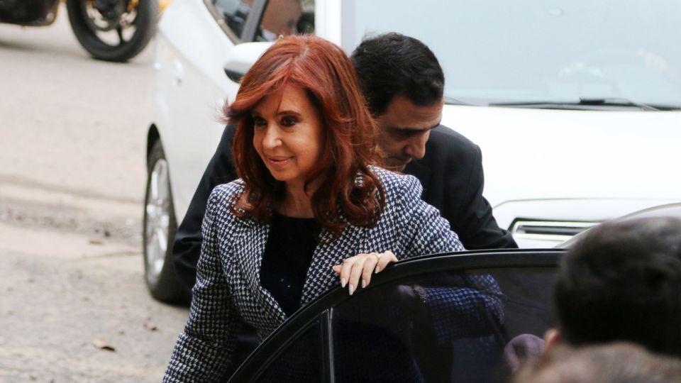 Cristina entrando a tribunales 09182018