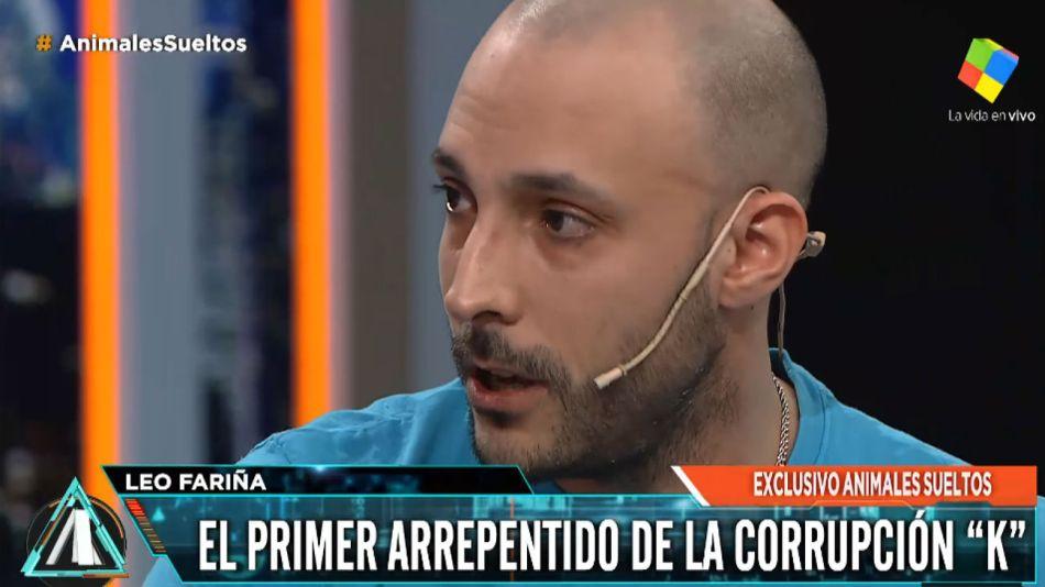 """Fariña habló de la corrupción K en """"Animales Sueltos""""."""