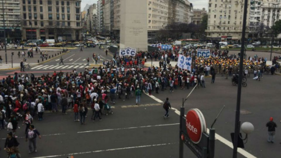protestas centro porteno 09192018
