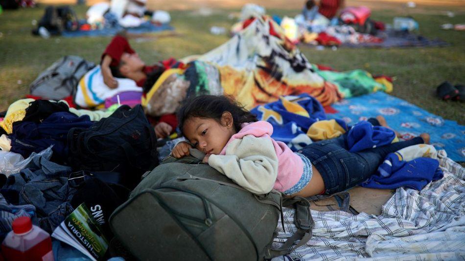 niños perdidos migracion