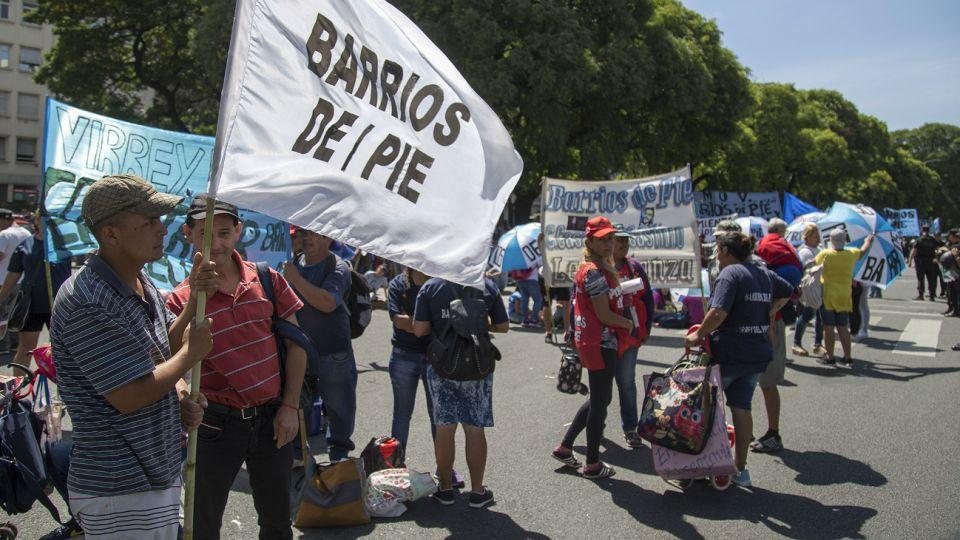 Barrios de Pie protagonizará las ollas populares.