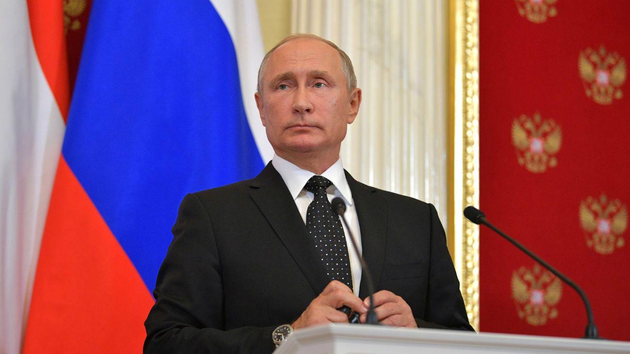 """Una diputada del FPV reclamó la """"falta de Estado de derecho"""" en Argentina ante Vladimir Putin, presidente de unos de los países más autoritarios."""