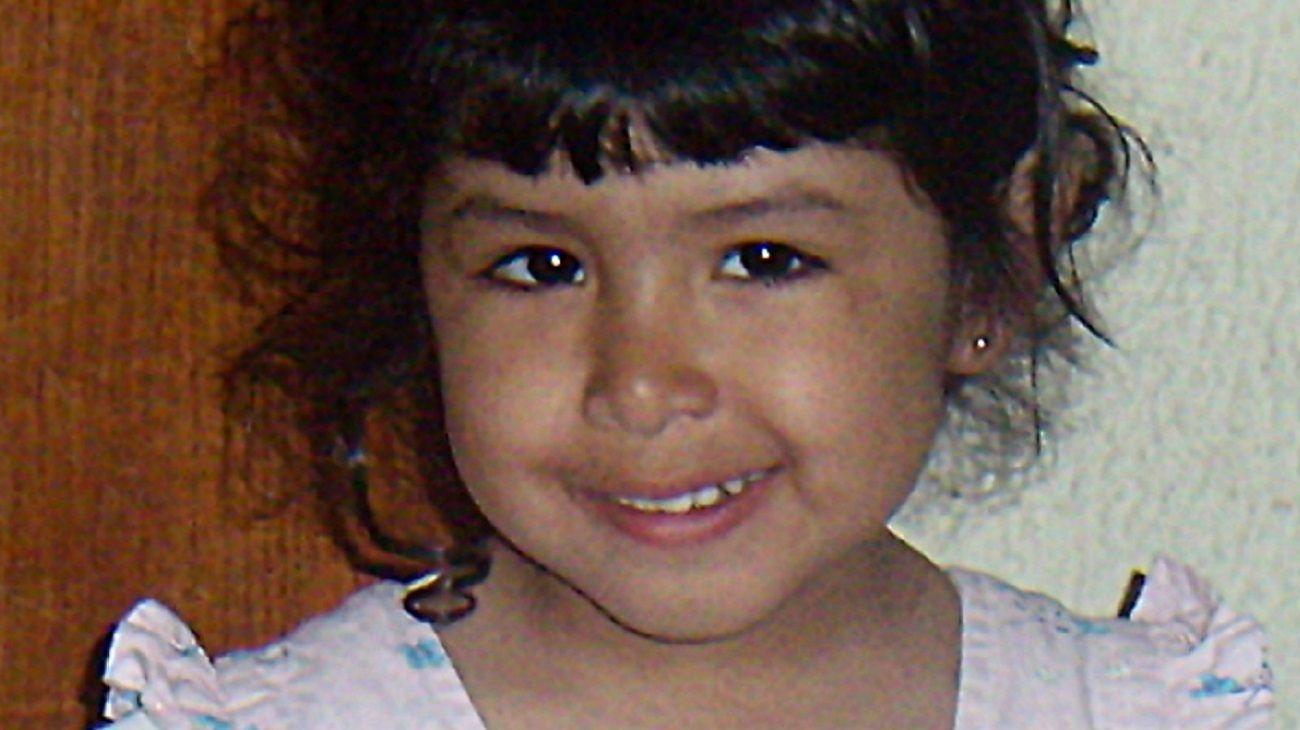 Sofía tenía tres años y ocho meses cuando desapareció.
