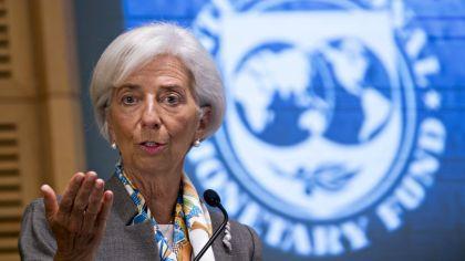 La titular del Fondo Monetario Internacional, Christine Lagarde.