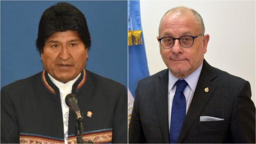 El Canciller argentino le respondió a Morales