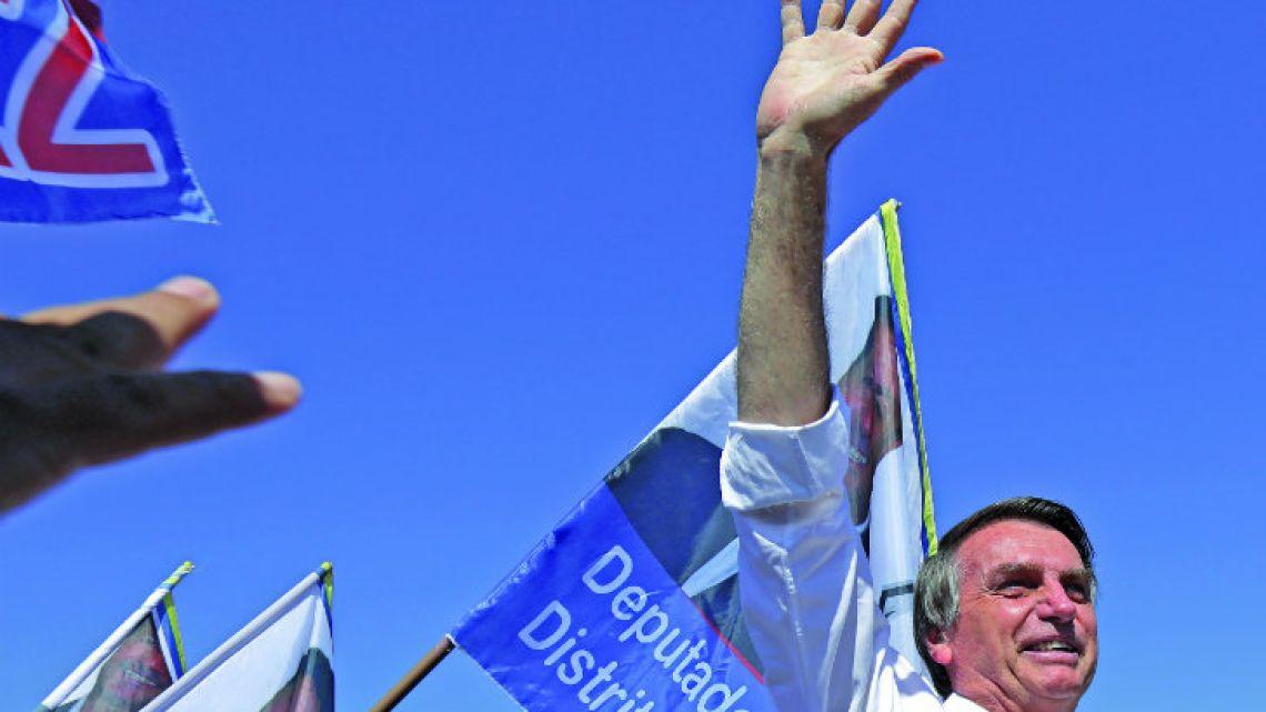 Candidate for president, Jair Bolsonaro.