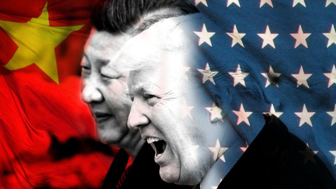 Trump against China.