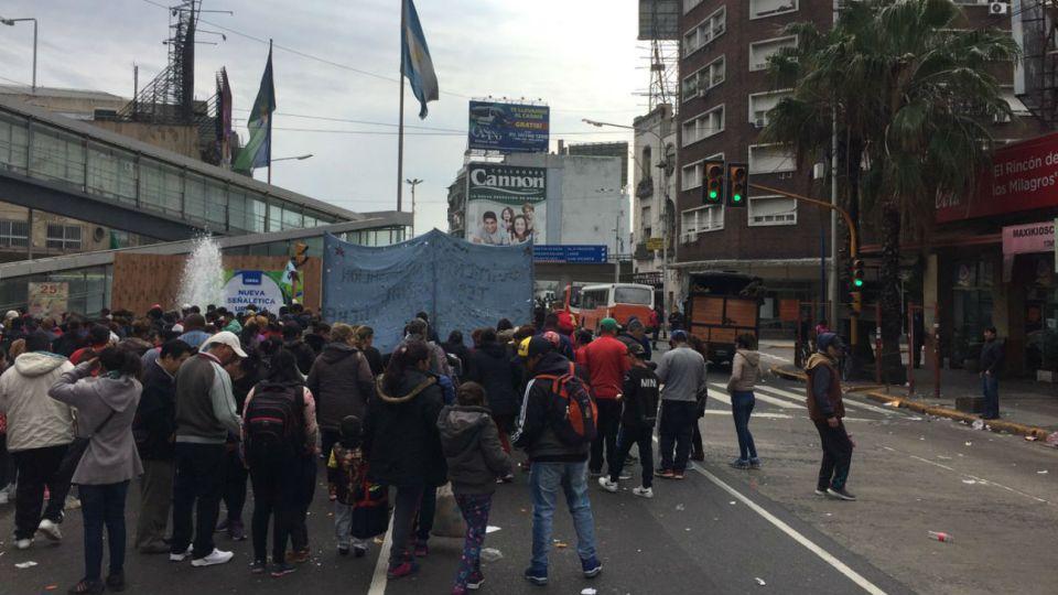 La primera acción del día será cortar el Puente Pueyrredón, en Avellaneda.