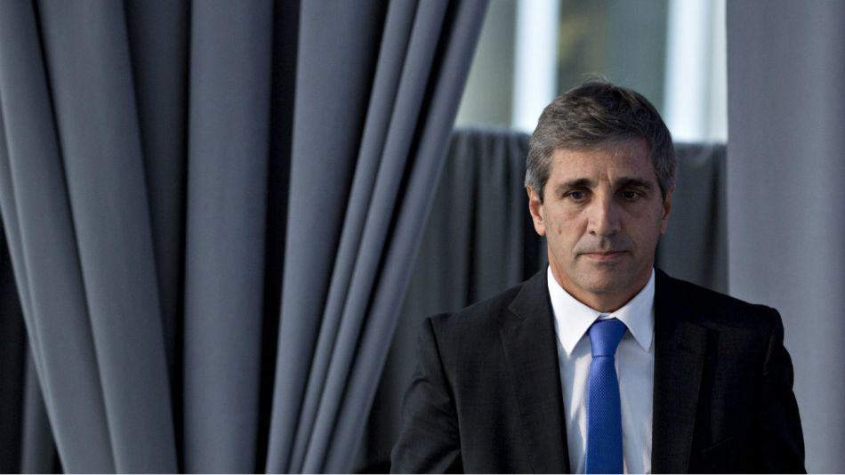 Luis Caputo renunció este martes a la presidencia del Banco Central.20180925