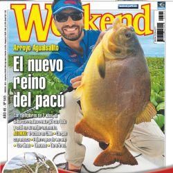 Tapa Revista Weekend Febrero 2018