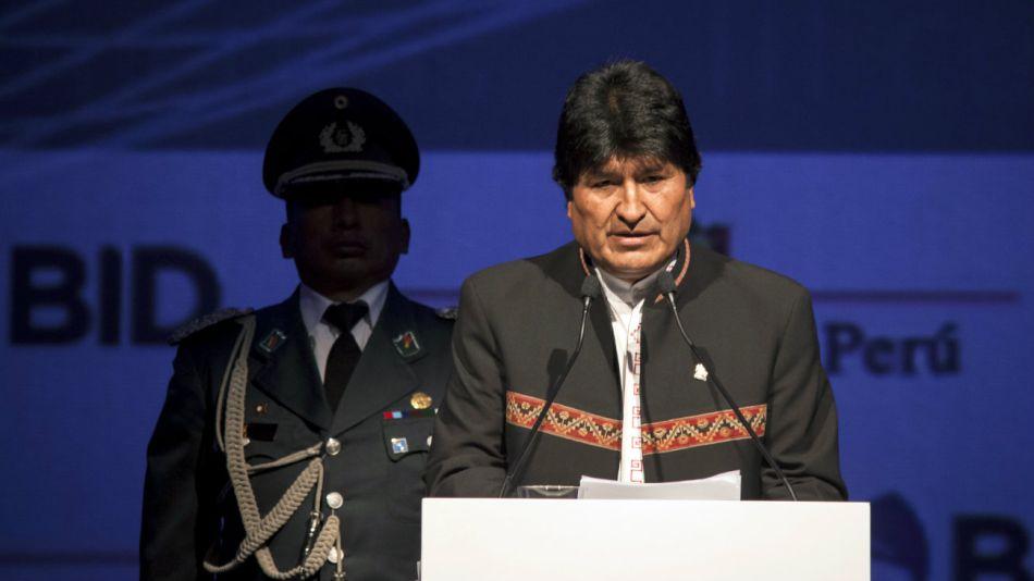El presidente de Bolivia, Evo Morales.20180926
