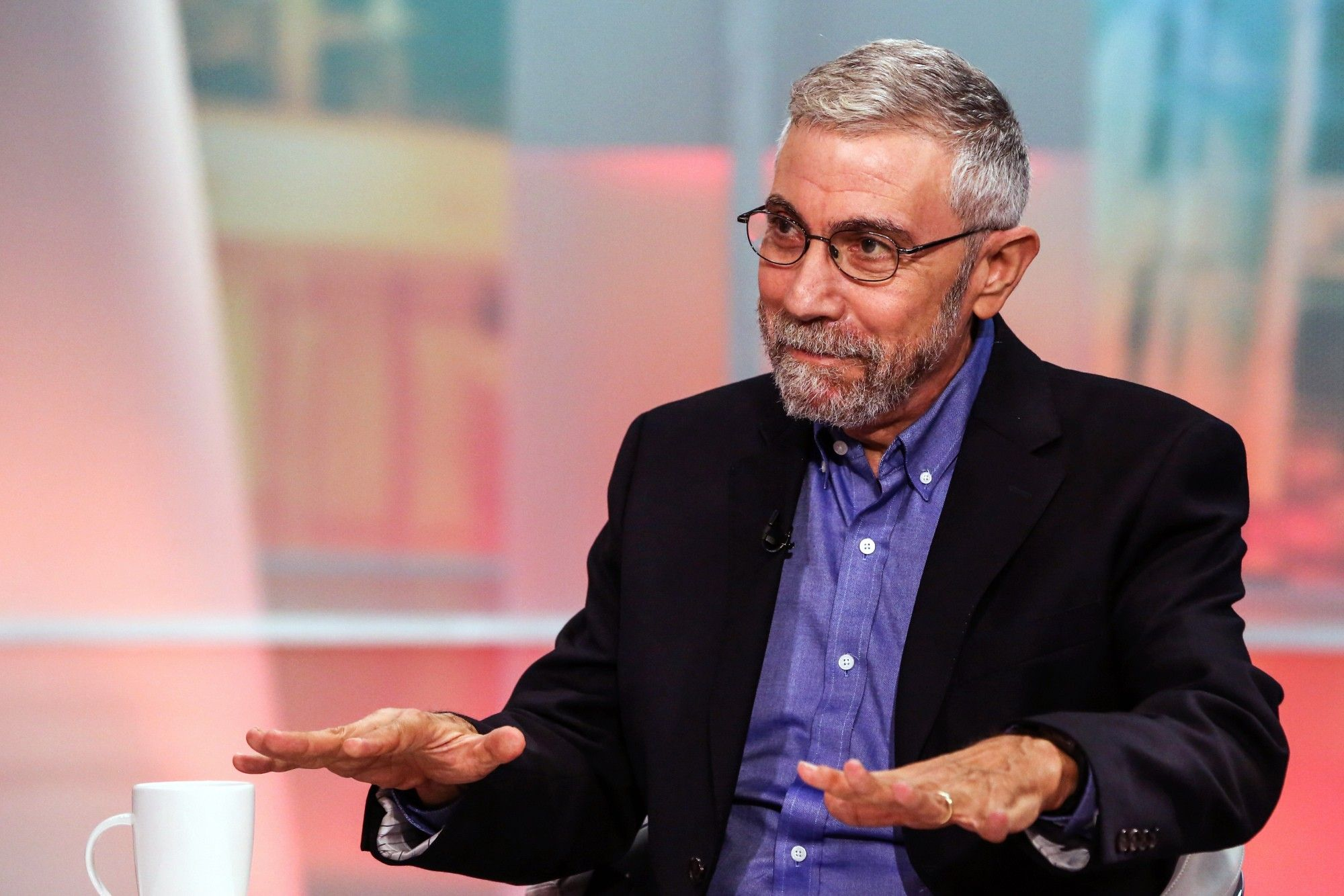 City University Of New York Economics Professor Paul Krugman Interview