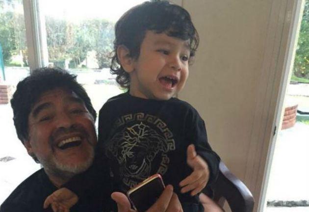Verónica Ojeda habló de los rumores de embarazo con Diego Maradona