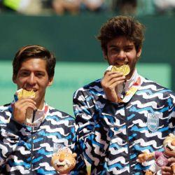 baez y diaz acosta dorada dobles tenis juegos juventud