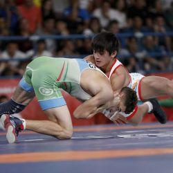 david almedra lucha olimpica juegos juventud NA