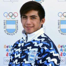 david almedra lucha olimpica juegos juventud prensa coa