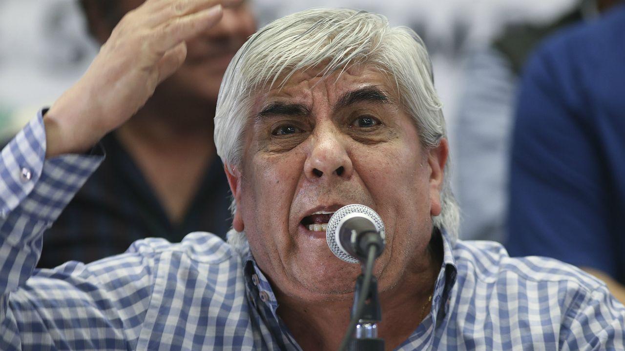 """Hugo Moyano amenazó al Gobierno con un paro general """"en los próximos meses"""""""