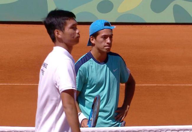 Díaz Acosta avanzó a semis y va por una medalla — Tenis