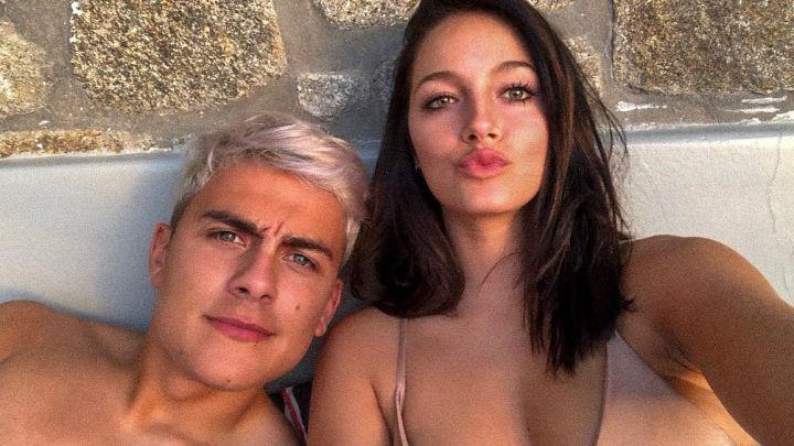 El desnudo viral de Oriana Sabatini que despertó la furia de Paulo Dybala
