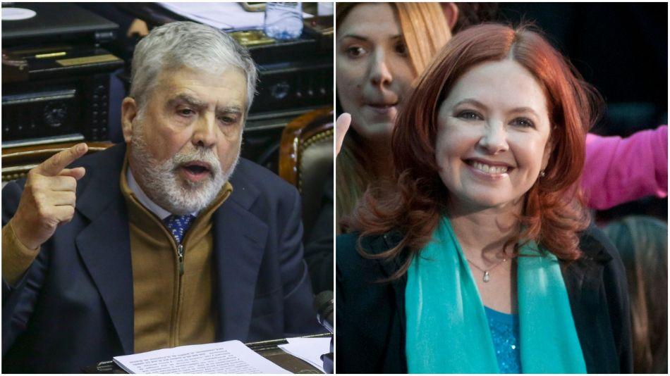 """DE VIDO Y DEL BOCA. Ambos son investigados por irregularidades en la financiación de la telenovela """"Mamá Corazón"""""""