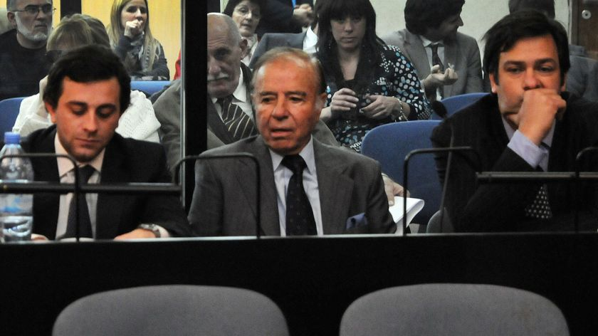 Absolvieron a Menem por el encubrimiento del atentado a la AMIA