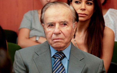 Confirman la condena a Menem por la causa de los sobresueldos