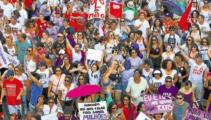Brasil. La multitud repudia el discurso negativo de Bolsonaro.