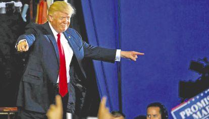 Trump. Su llegada al poder significó el fin del orden global que siguió a la Segunda Guerra.