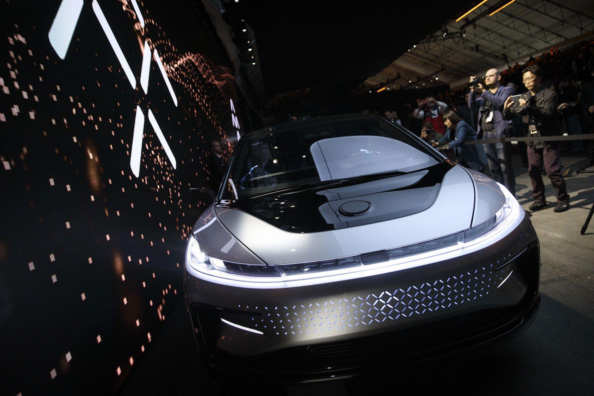 FF91 electric car