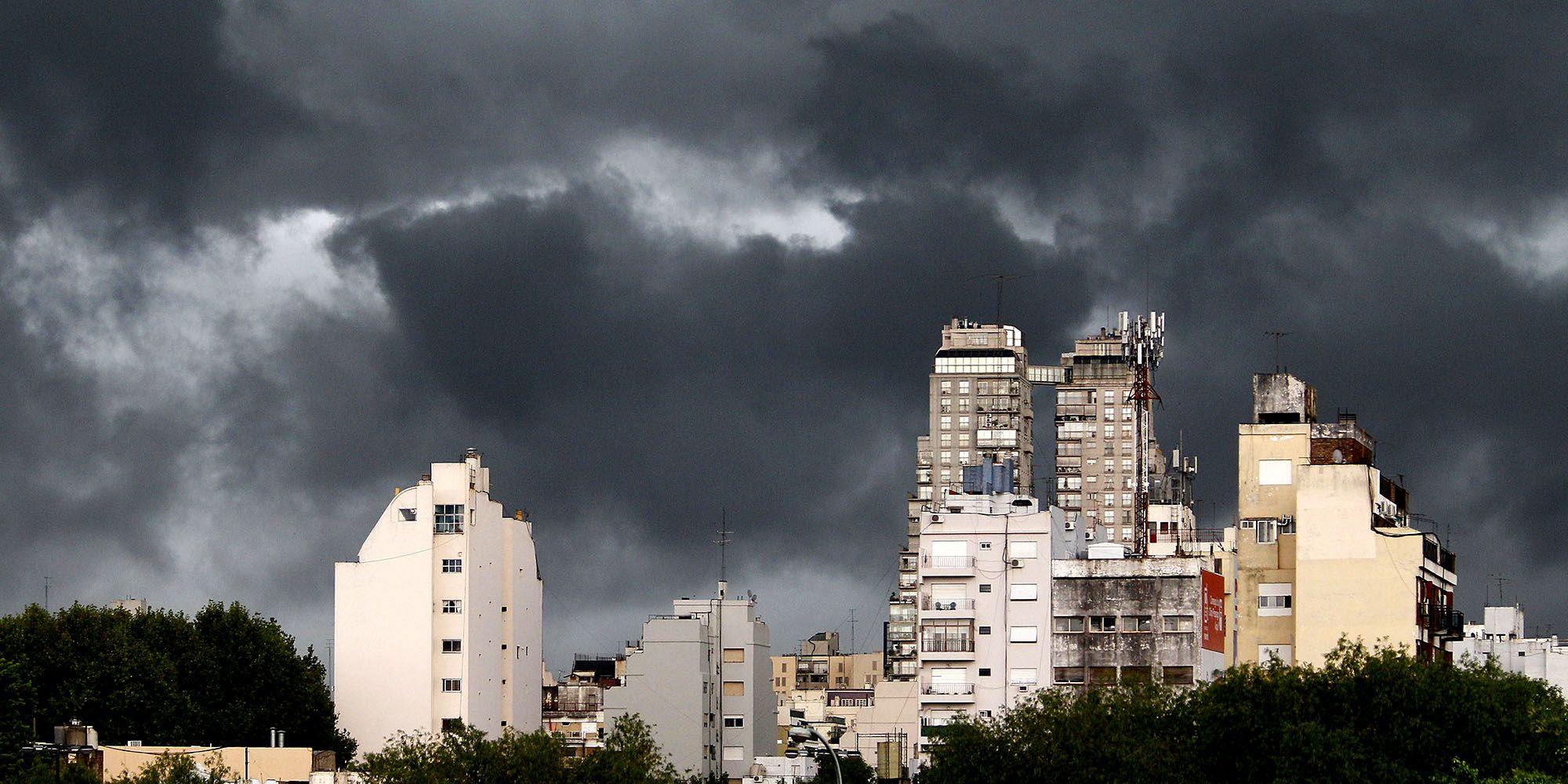 Se esperan fuertes tormentas en la ciudad de Buenos Aires y granizo en el sur de la provincia de Buenos Aires.