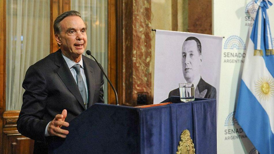 Miguel Ángel Pichetto, en el tributo a Perón.
