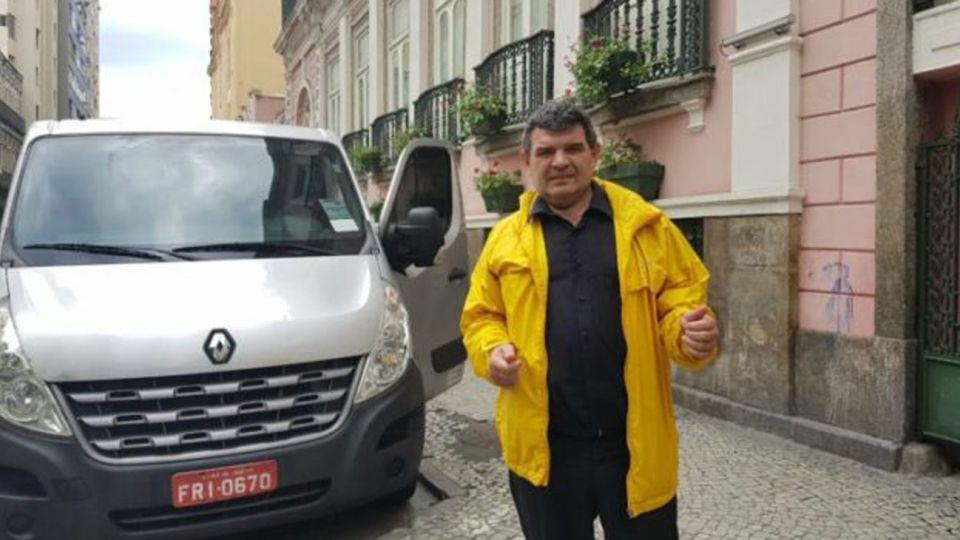 """Olmedo en Brasil: festeja el triunfo de la """"mano dura"""" y se siente el """"Bolsonaro argentino"""""""