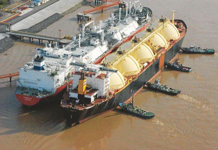 Los precios promedio de importación de GNL fueron de aproximadamente 14 dólares por millón de BTU