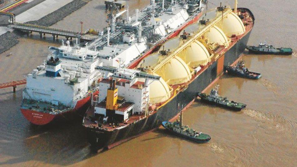 Gas natural licuado buque