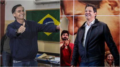 Bolsonaro Haddad Brasil 20181010