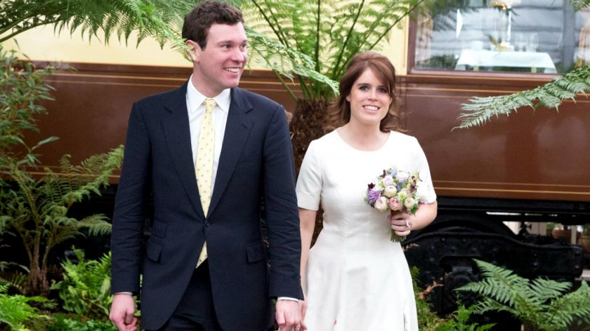 Boda Real: los atuendos del matrimonio de Eugenia de Inglaterra