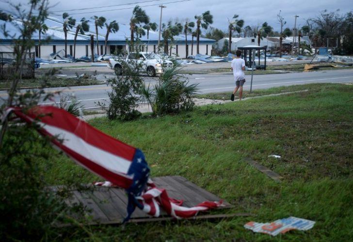 fotos huracan michael eeuu