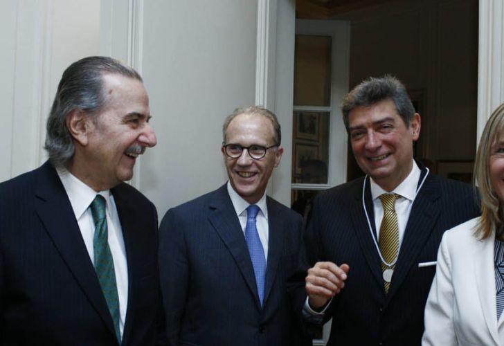 Horacio Rosatti fue incorporado a la Academia Nacional de Ciencias Morales y Políticas