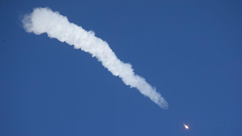 El cohete 'Soyuz' realiza un aterrizaje de emergencia tras un despegue fallido