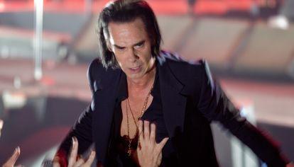 El show de Nick Cave en el Estadio Malvinas Argentinas.