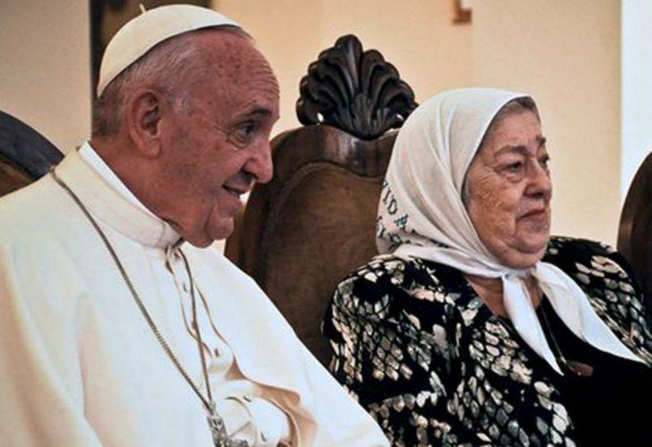 papa francisco madres plaza mayo