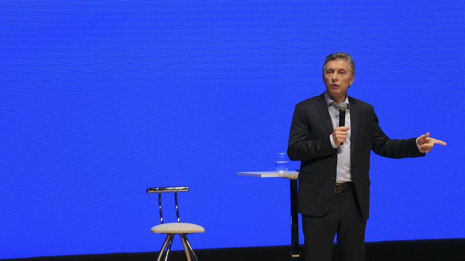 Mauricio Macri, en el panel Argentina Exporta.