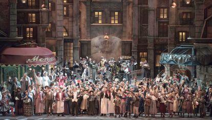 Única. La Bohème, con música de Giacomo Puccini, se estrenó en Turín el 1º de febrero de 1866. A la izquierda, Gustavo López Manzitti.