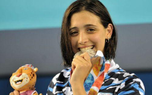 Nueva medalla plateada para Delfina Pignatiello
