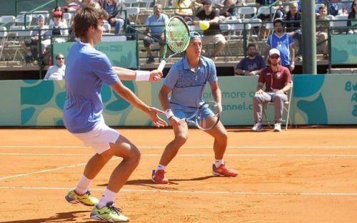 Tenis: Báez y Díaz Acosta aseguraron otra medalla