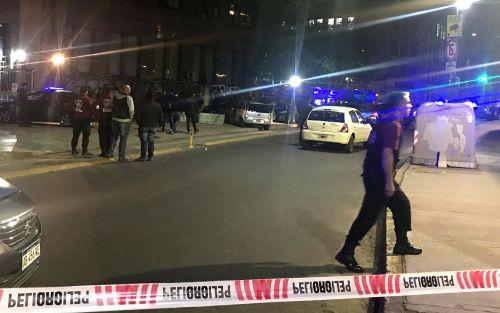 Persecución y tiroteo frente al Hospital de Clínicas