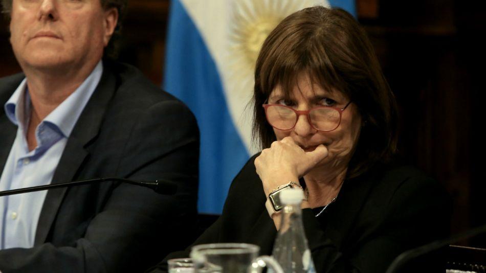 Patricia Bullrich ministra de Seguridad de la Nación