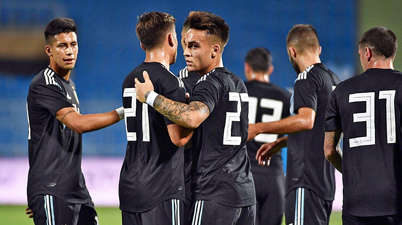 Negro de luto. El equipo nacional le ganó 4-0 a Irak, el jueves. Antes, en septiembre, había vencido 3-0 a Guatemala.