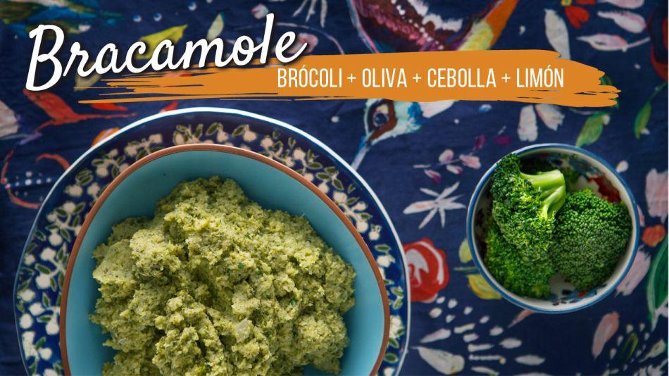 Guacamole de brócoli
